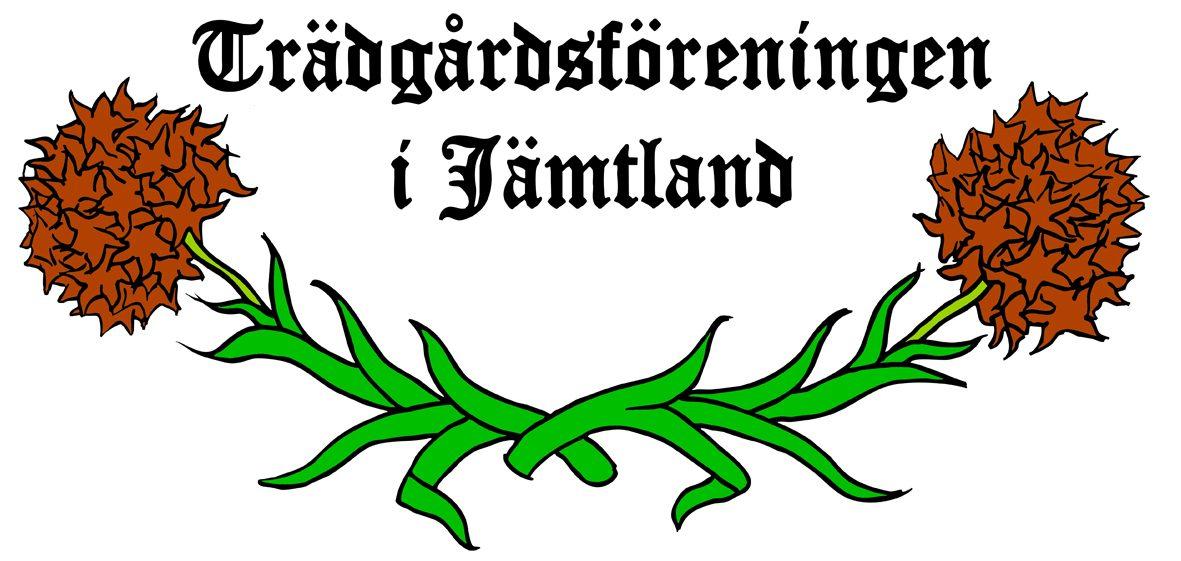 Logo for Trädgårdsföreningen i Jämtland